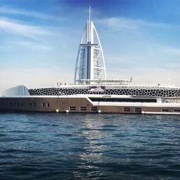 Mega Yacht in Dubai